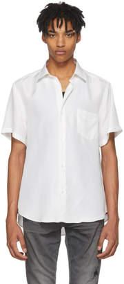 Cobra S.C. White Short Sleeve Silk Model One Shirt