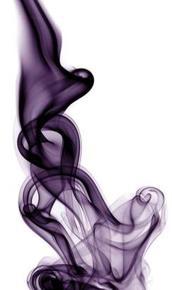 East Urban Home 'Smoke VII' Graphic Art Print on Canvas
