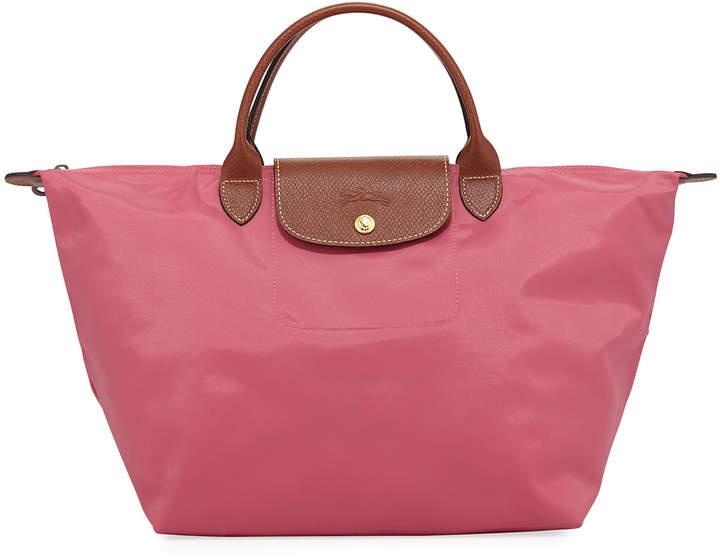 Longchamp Le Pliage Medium Tote Bag, Pink