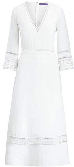 Ralph Lauren Collection Ralph Lauren Collection Francesca Linen Dress
