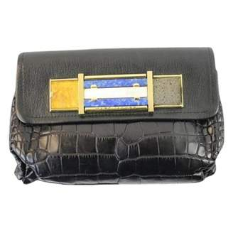 Marc Jacobs Black Exotic leathers Clutch bags