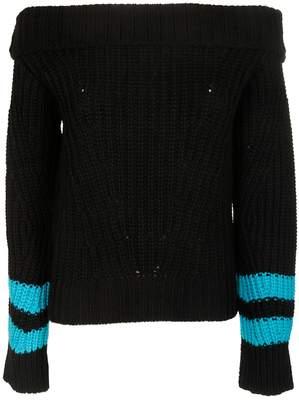 MSGM Striped Sleeve Sweater