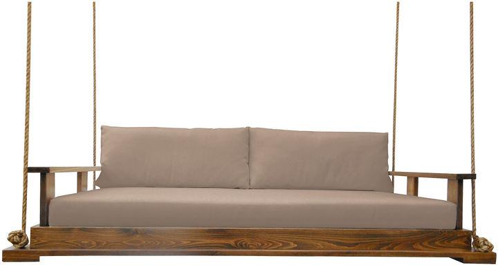 Southern Komfort Bed Swings Savannah Bed Swing, Brown/ Wheat