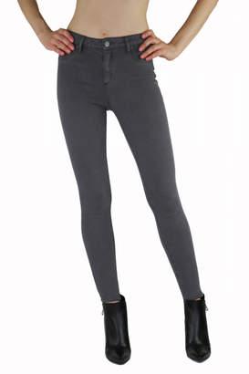 Tractr New York Poplin) Eiffel Tower Grey Jeans