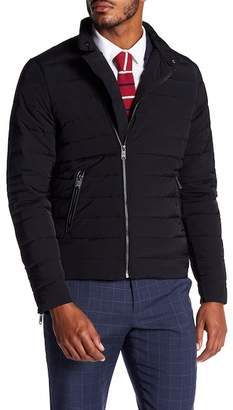 Scotch & Soda Quilted Front Zip Down Jacket