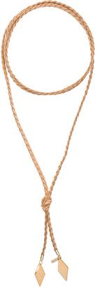 Vanessa Mooney Braided Diamond Bolo $48 thestylecure.com