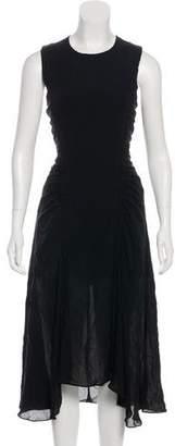 A.L.C. Asymmetrical Midi Dress