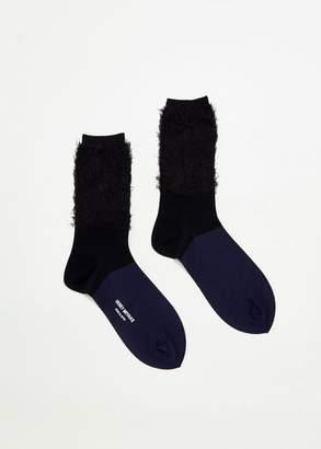 Issey Miyake Faux Fur Socks