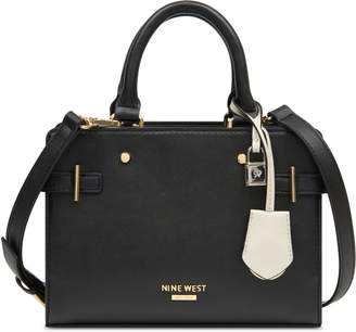Nine West Block Mini Satchel Handbag