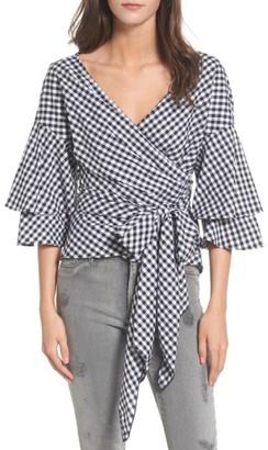 Women's Wayf Beckett Tiered Bell Sleeve Top $69 thestylecure.com