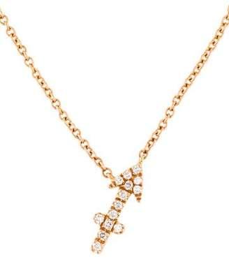 Sidney Garber Diamond Arrow Pendant Necklace