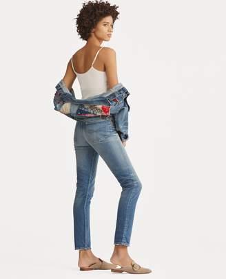 Ralph Lauren Callen High-Rise Slim Jean