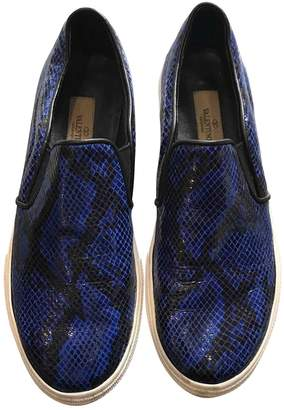 Valentino Patent leather trainers
