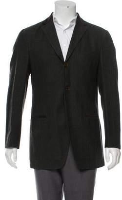Etro Wool Deconstructed Coat