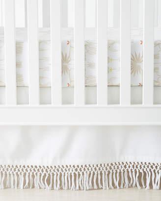 Serena & Lily Macramé Crib Skirt
