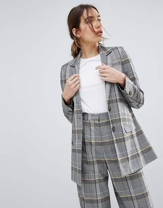 Asos Design Tailored Bold Spring Check Blazer