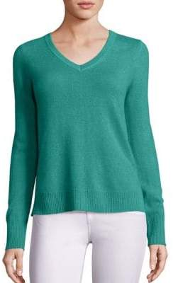Saks Fifth Avenue Basic Cashmere V-Neck Sweater