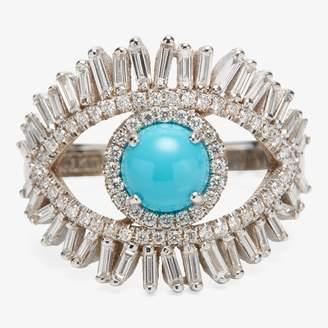 Suzanne Kalan Evil Eye Diamond Ring