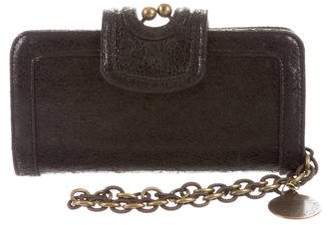 Stella McCartney Vegan Leather Wristlet