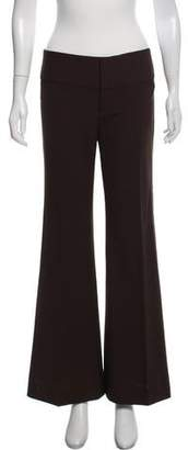 Alice + Olivia Mid-Rise Flared Pants w/ Tags