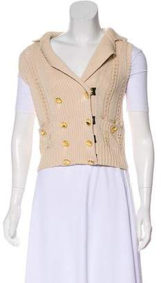 Marc by Marc Jacobs Knit Double-Breasted Vest