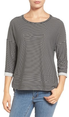Women's Gibson Stripe A-Line Tee $42 thestylecure.com