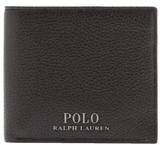Polo Ralph Lauren Leather Bi Fold Wallet - Mens - Black