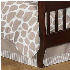 JoJo Designs Sweet Giraffe Toddler Bed Skirt