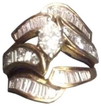 Exquisite Custom Diamond Engagement Wedding Ring