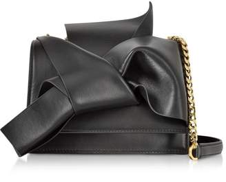 N°21 Leather Small Bow Bag W/shoulder Strap