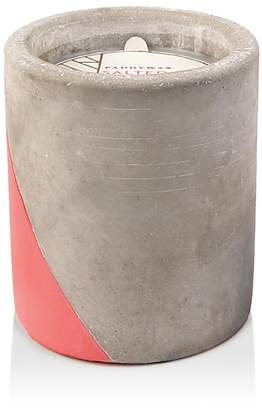 Paddywax Urban Concrete Pot Coral Salted Grapefruit Candle