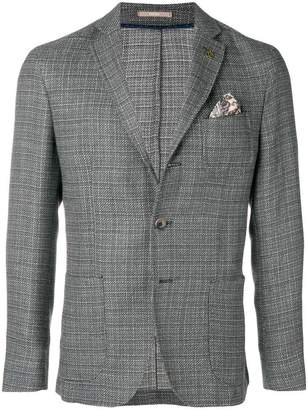 Paoloni front button blazer
