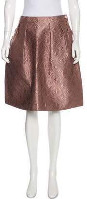 Temperley London Quilted Knee-Length Skirt w/ Tags