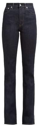 Helmut Lang Femme Bootcut Jeans - Womens - Dark Denim