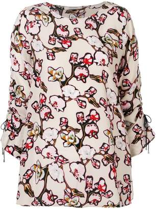 Schumacher Dorothee Daydream Meadow printed blouse