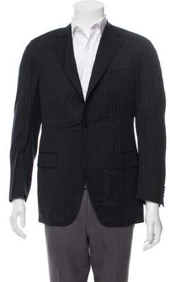 Barneys New York Barney's New York Super 100's Wool Blazer