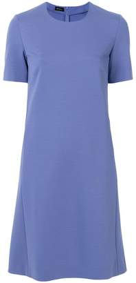 Les Copains short-sleeve flared dress