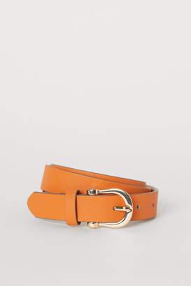 H&M Narrow Belt - Orange