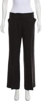 Miu Miu Mid-Rise Wool Pants