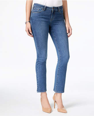 Style&Co. Style & Co Petite Stitch-Pocket Bootcut Jeans, Created for Macy's
