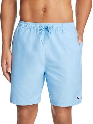 Vineyard Vines Solid Bungalow Swim Shorts $89.50 thestylecure.com