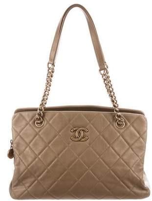 Chanel Small CC Crown Shopper Tote