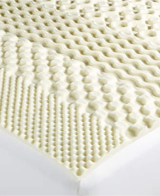 Martha Stewart Collection Essentials 7-Zone Queen Memory Foam Mattress Topper, Created for Macy's
