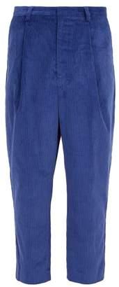 Wyatt Deveaux Corduroy Trousers - Mens - Blue