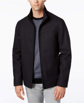 Perry Ellis Men's Big & Tall Full-Zip Stand-Collar Coat
