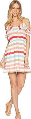 Jack by BB Dakota Junior's Meredith Beach Ball Stripe Printed Dress