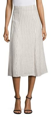 Theory Zimri Striped Skirt $275 thestylecure.com