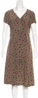 Marc by Marc Jacobs Silk Polka Dot Dress