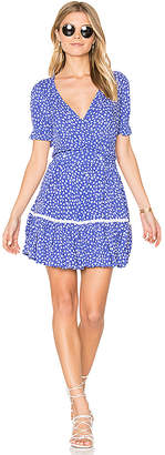 FAITHFULL THE BRAND Liza Dress in Blue $150 thestylecure.com