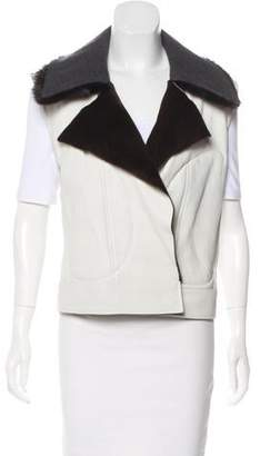 Reed Krakoff Leather Structured Vest w/ Tags